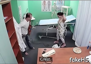 Sexy doctor knows anything about sex