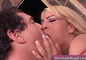 Transsexual love to blow - TomMoore &amp_ PamelaM