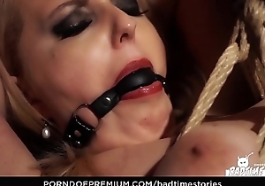 BADTIME STORIES - Submissive German blonde gets tormented in hardcore BDSM porn