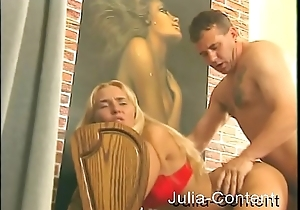 It-Girl drilled - Blond and Cumshot