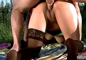 Spanish Broad Dicked Wildly and Jizzed on Her Face