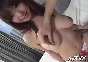 Fucking an appealing oriental playgirl