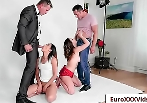 Euro Sex Party Fuck - Picture Perfect Pussies with Esperanza Del Horno and Ally Breelsen-04