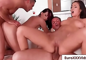 Euro Sex Party Fuck - Pussy Be fitting of Breakfast with Lyen Parker and Darcee Lee-07