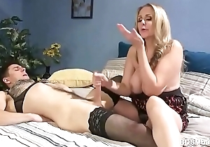Julia Ann Dominates Over Horny Guy