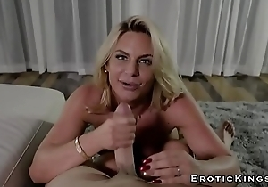 Phoenix marie gives footjob while her husband watching