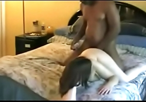 Very Hot White Mama Rides ugly BBC - NIZZERS.COM