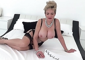 British MILF Sonia begs for a creampie