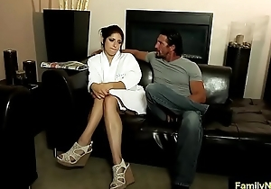 Father daughter sex massage family porn