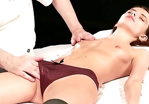 Teen Christy in orgasmic massage