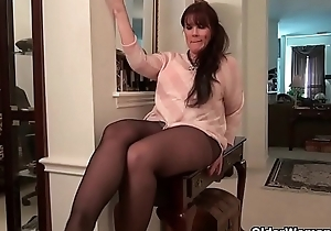 American moms in pantyhose part 3