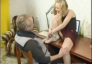 DAUGHTERLOVER.COM - Father And His Horny Daughter