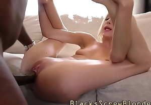 Teen plowed by black dong
