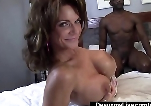 Mature Mommy Deauxma &amp_ Ashlee Chambers Ration Big Black Cock!
