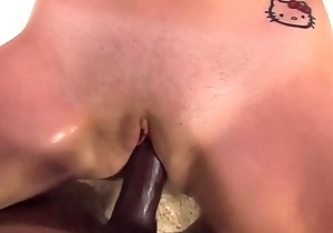 Horny Little Black Cock Whore