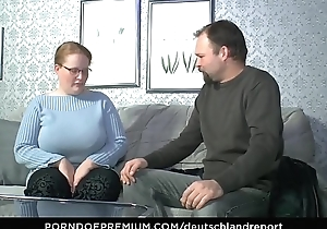 DEUTSCHLAND REPORT - Hardcore mature fuck with amateur German couple