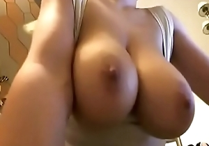 Super hot nice tits Doll on webcam show