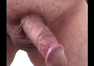 pissing with a hard unaffected by