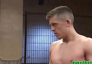Masked jock anal fucked doggystyle by dom
