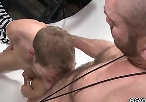 Muscular studs having fun with each other