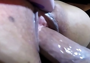 Closeup Fucking be incumbent on a Hot Squirting Pussy