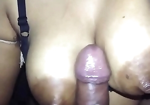Desi wife milky boobjob and cuming her boob