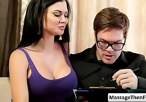Jasmine Jae and Ryan Ryder video-01 from Tricky Watering-place XXX