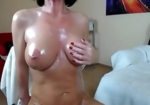 Milf abstruse oil boobs