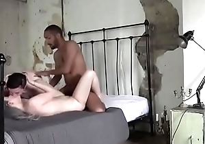 Gorgeous pale babe fucks in hotel in london